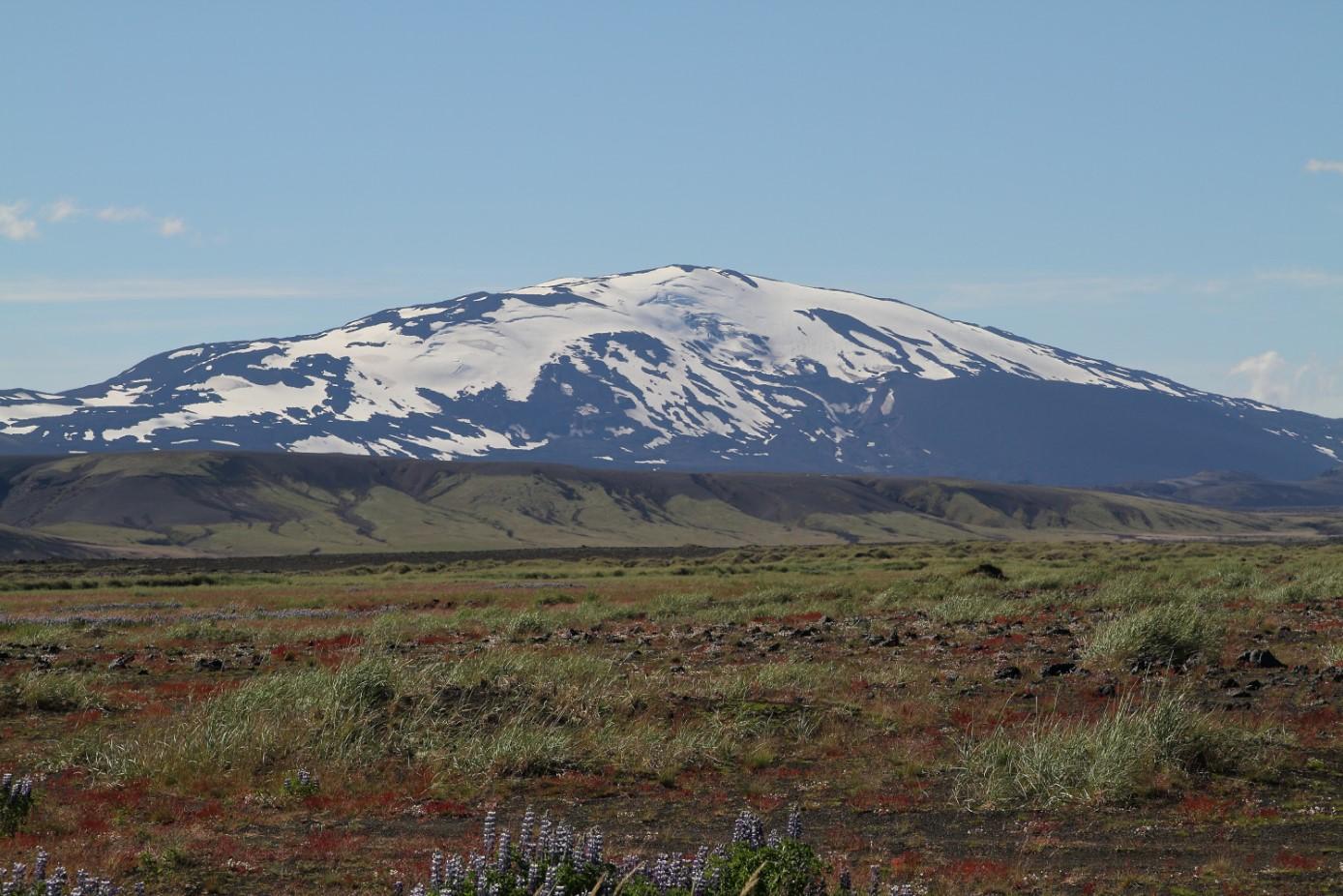Tephra Hekla Volcano