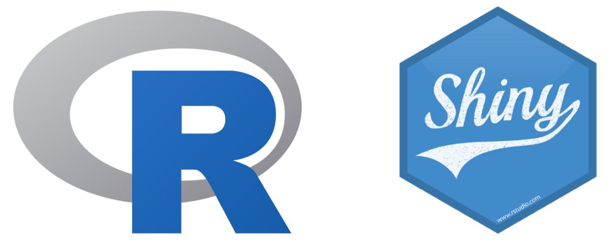 R shiny logo
